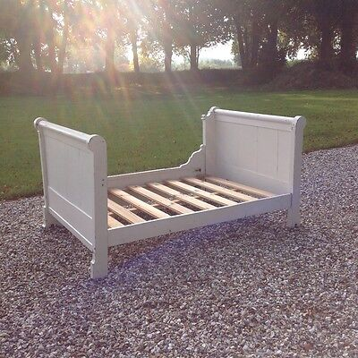Vintage French Sleigh Bed