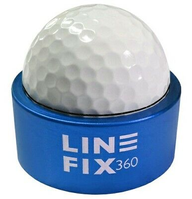 New Blue Line Fix 360 Golf Ball Marking Aid