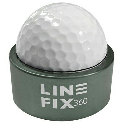 New Gunmetal Grey Line Fix 360 Golf Ball Marking Aid