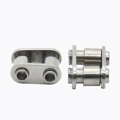 1PCS #35 06B-1 Stainless Steel Hollow Roller Chain Connecting Link Full buckle