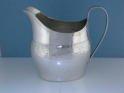 Early Georgian Silver Helmet shape Cream Jug Creamer London late 1700 early 1800