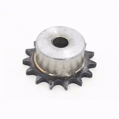 "#25 Chain Drive Sprocket 38T For 25H Chain 04C 38Tooth Pitch 1/4"" OD 81mm"
