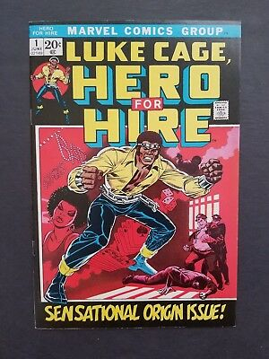 Hero For Hire #1 • 1St Luke Cage • Very Fine (8.0) Or Better • The Defenders