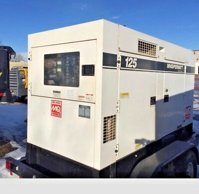 2010 Multiquip DCA 125USI, 125KVA Towable Generator