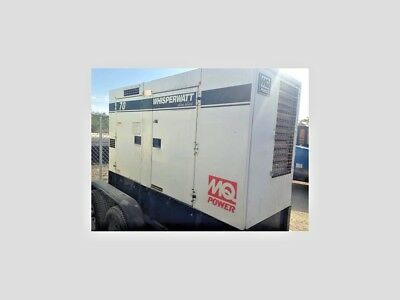 2010 Multiquip Dca 70Usi, 70 Kva Towable Generator, Ultra Silent Unit