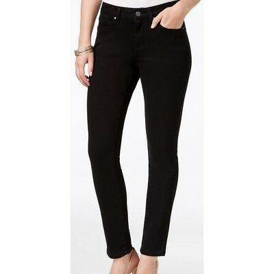 Earl Jeans NEW Womens Black Colored Slim, Skinny Jeans TEDO