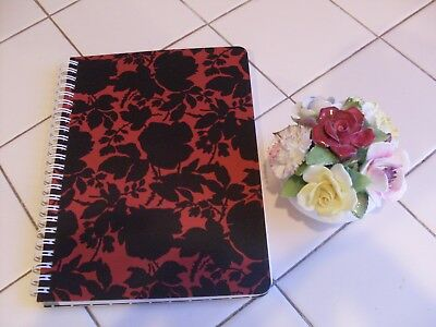 Nwt Vera Bradley Mini Notebook With Pocket, Silhouette Floral