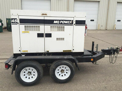 2012 Multiquip Dca 45Ssi, 45Kva Towable Generator