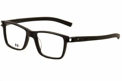 New Tag Heuer w/TAGS 7603 Track S Black TH7603 007 50mm Optical Eyeglasses