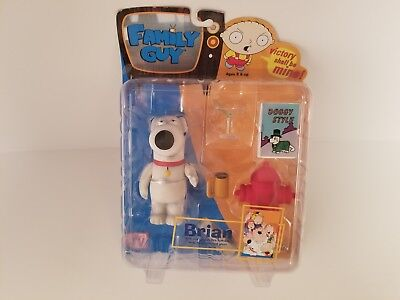 """Family Guy Brian Griffin Series 1 Action Figure 6/"""" Scale MIB Mezco RARE Toy"""