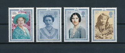Great Britain 1327-30 MNH, Queen Mother, 1990