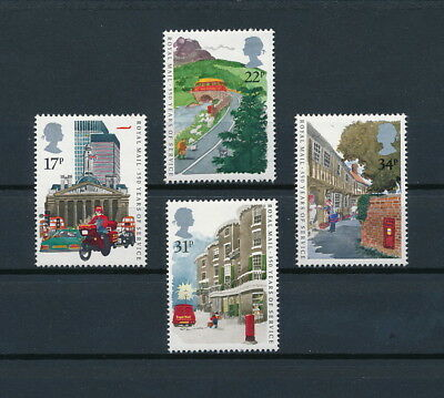 Great Britain 1111-14 MNH, Royal Mail Services, 1985