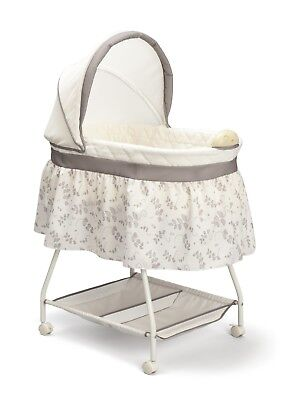 Reborn Baby Crib Bedside Bassinet Co Sleeping Bed for  Stand Universal Skirt