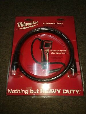 Milwaukee 3ft Extension for M-Spector Digital Inspection Camera 48-53-0110 New
