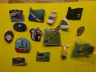 BPOE ELKS 15 Different Oregon Elks Pins Plus 5 Extra included 20 Total Pins