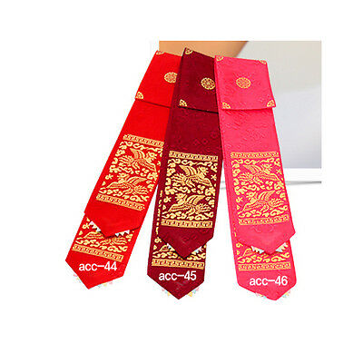 Korean traditional clothes DAENGGI Hanbok hairband PIGTAIL RIBBON children Red