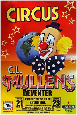 Circus Mullens   Affiche
