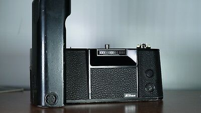 Nikon MD-4 Motor Drive For Nikon F3Tested And Working Or Your Money Back!