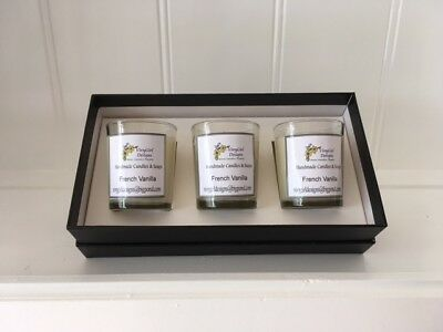 Candle Making Kit - SOY CANDLES- Gift box, instructions, wicks,wax,FO, Glassware