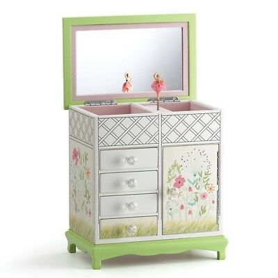 Lenox Floral Wooden Jewelry Box by Lenox