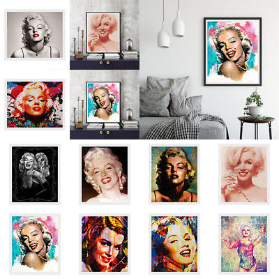 Marilyn Monroe Canvas Print Painting Art Picture Wall Mural Hanging Home Decor