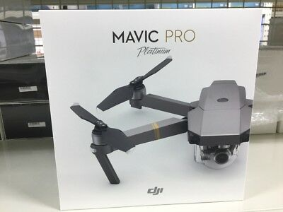Brand New DJI Mavic Pro Platinum RTF Kit