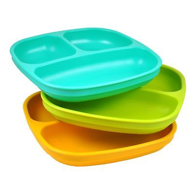 Re-Play Divided Plate (3 pack)