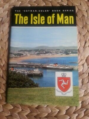 VINTAGE COLLECTIBLE 'THE ISLE OF MAN' Cotman Colour Book 1970