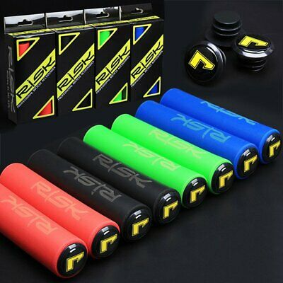 1 Pair Road MTB Mountain Bike Bicycle Cycle Silicone Rubber Handlebar Grips Tape