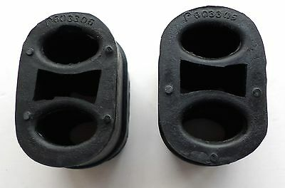 2 x Vauxhall Signum Rubber Exhaust Mount Silencer Hanger Support Heavy Duty