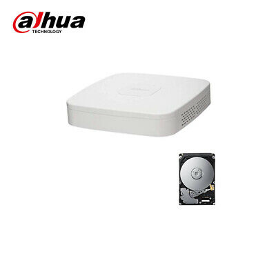 XVR DVR IBRIDO CLOUD  DAHUA 5in1 AHD CVI TVI CVBS IP 4 CANALI UTC FULL HD P2P  H