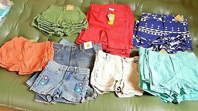 Wholesale Lot of 100 Piece  Girls Clothing, Skirts, Shorts, Pants, Tops NWT