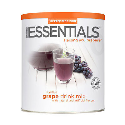 Dehydrated Drink Mix, Fortified Grape can
