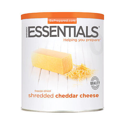 Freeze Dried Cheese, Cheddar Shredded can