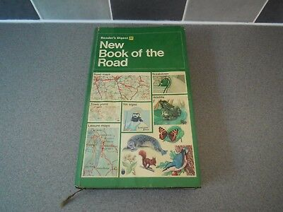 New Book Of The Road Readers Digest Aa Map Loft Find Used Vintage Retro