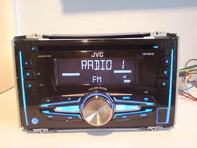 Jvc Kw-R510 Double Din Car Stereo Radio Mp3 Aux Usb Cd Player