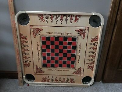 Pro Large Carrom Board Wooden Game With Coins /& Striker 296-AOMH