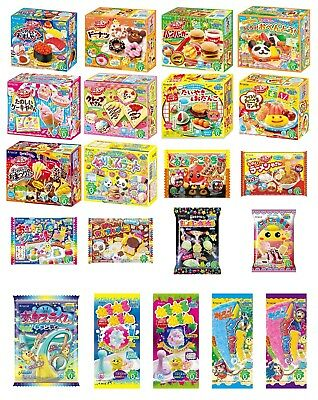 Kracie Popin Cookin DIY KIT Candy Gummy with English Recipe