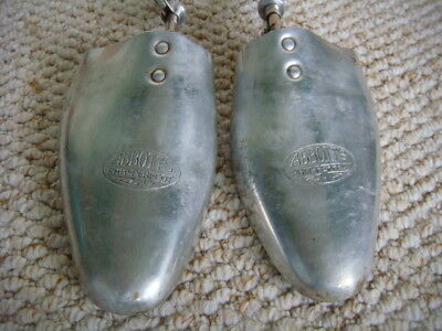 1 x Pair of Vintage Metal Shoe Trees/Stretchers by Abbotts Phit-Perfect Size9/10