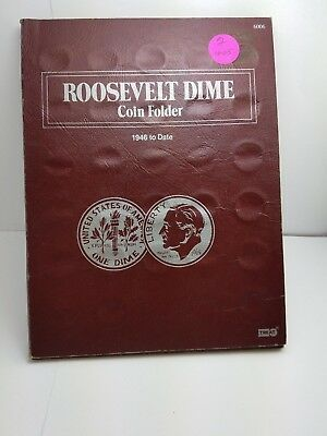 Roosevelt Dime Collection 1946 to 1979