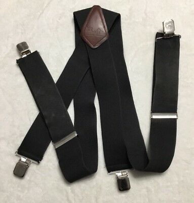 "HoldUp Side clip Trucker Style 2"" Wide Suspenders"