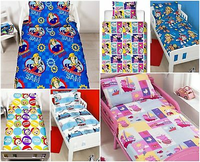 Children's Clearance Junior Toddler Cot Bed Duvet Cover & Pillowcase Sets