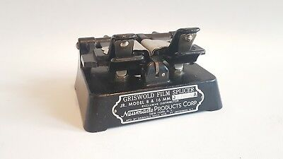 Vintage Griswold Movie Film Splicer for 8 & 16 MM Neuman Product Corp