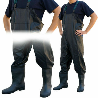 Lineaeffe PVC Chest Waders Sizes 6 7 8 9 10 11 12 Carp Coarse Fly Fishing Tackle