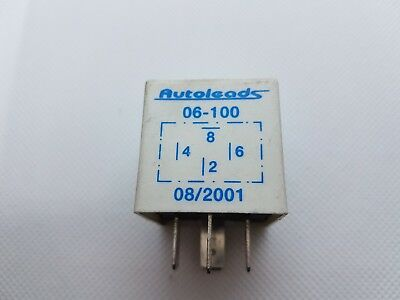 Autoleads 06-100B Telephone Mute Relay For Vauxhall