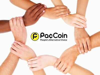 PACCOIN  250K  CRYPTO(PAC) - COINS sent straight to your wallet  in NO TIME.