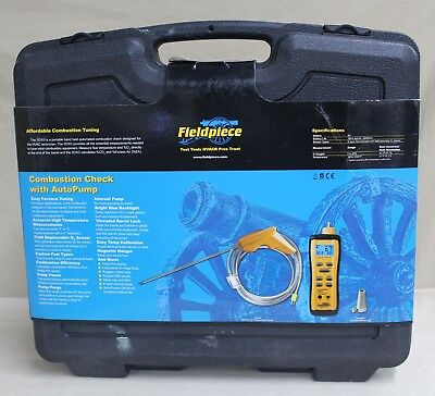 New, Fieldpiece Sox3 Cumbustion Tuning Check Hvacr Tool.