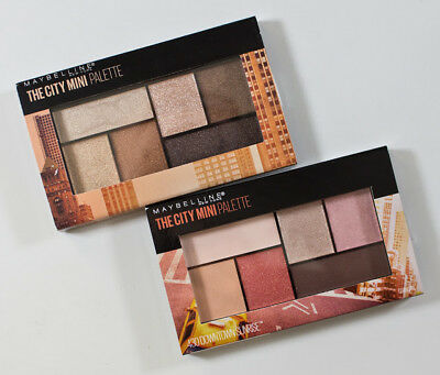 Maybelline The City Mini Palette, You Choose!