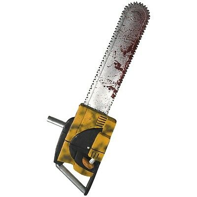 """Deluxe Leatherface 27"""" Chainsaw Adult Mens Horror Prop Halloween Costume Acsry"""