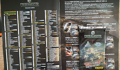 Gamescom 2017 Wargaming World of Tanks Trading Card Tüte Booster Pack + Code